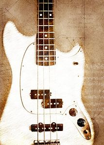 Gitarre Musik Kunst #Gitarre von JBJart Justyna Jaszke