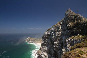 Kaap de Goede Hoop vanaf de Kaappunt van Ronald Bruijniks