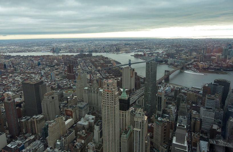 Uitzicht Manhattan (New York City) van Marcel Kerdijk