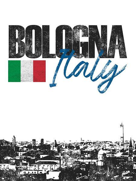 Bologna Italië van Printed Artings