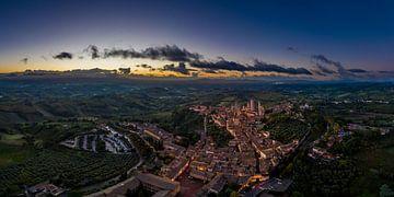 Guten Morgen San Gimignano von Denis Feiner