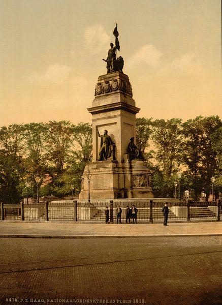 Nationaal Monument Plein 1813, Den Haag van Vintage Afbeeldingen