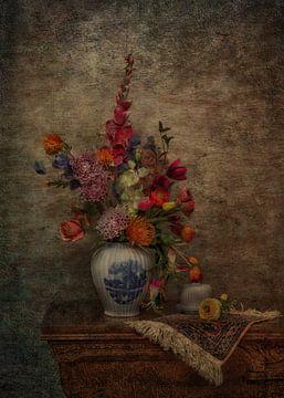 Klassisches Stilleben mit Blumen von Guna Andersone