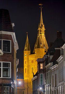 Doorkijkje Sassenpoort Zwolle