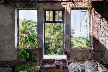 Verlassene Tropenansicht. von Roman Robroek
