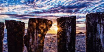 Poleheads bei Sonnenuntergang von Edwin Benschop
