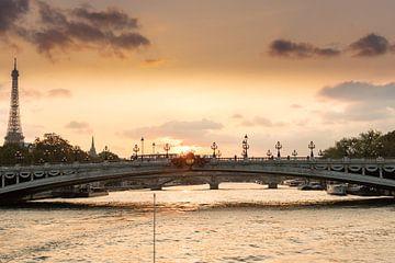Paris, Pont Alexandre-III von Elma Mud