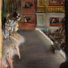 Dansers bij de oude Opera, Parijs, Edgar Degas van Liszt Collection