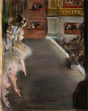 Tänzer an der Alten Oper, Edgar Degas
