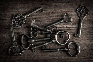 Stilleben alter Schlüssel von Clazien Boot