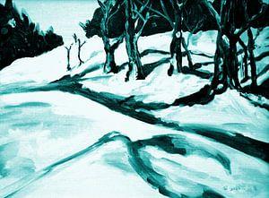 Winterlandschaft II von