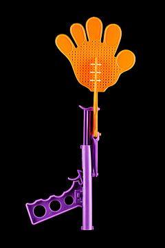 Fliegenklatschen-Pistole von Floris Kok