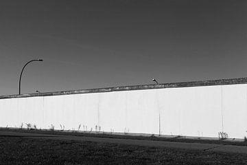 Mur de Berlin (noir et blanc)