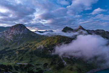 Lechtaler Alpen im Sonnenaufgang von Denis Feiner