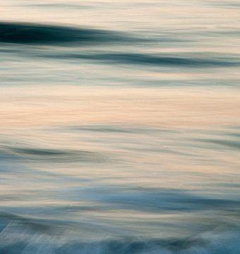 avondlicht op zee van jaap deen