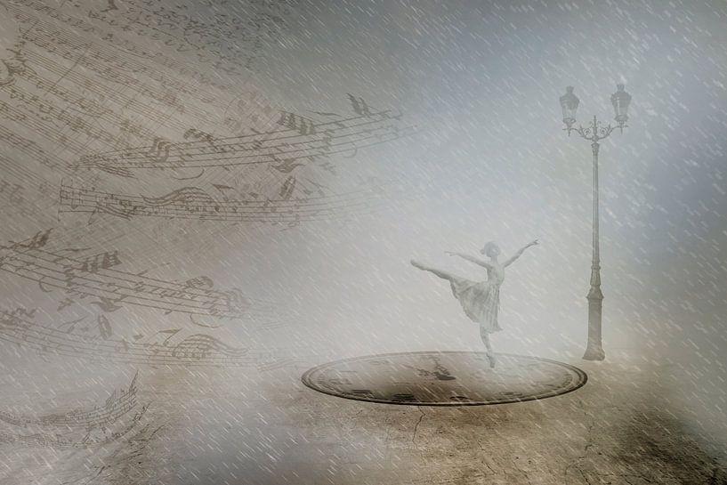 Dansen in de winternacht van Erich Krätschmer