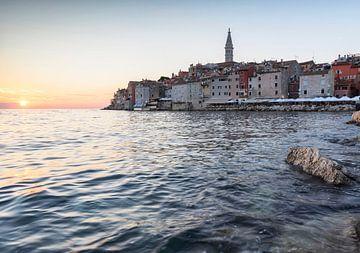 Zomer in Rovinj, Kroatië van Jeroen van Rooijen
