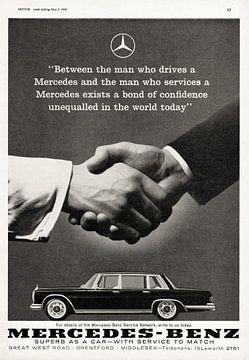 Mercedes-Benz Grand 600 reclame 1964; Gezien bij vtwonen van Atelier Liesjes