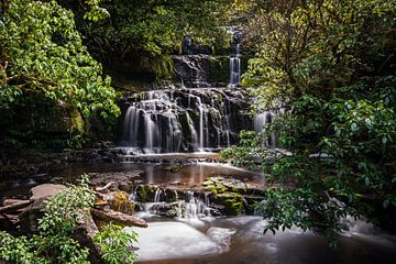 Purakauni Falls van Martin de Bock