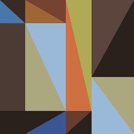 Abstracte samenstelling 634 van Angel Estevez