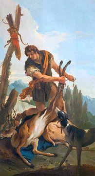 Giambattista Tiepolo, Jager en Hert - 1718 - 1730