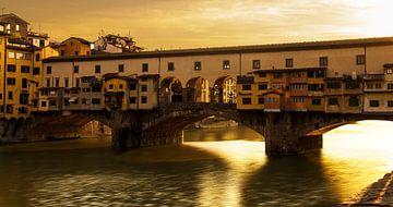 Ponte Vecchio de goude brug von Jeffrey Tukker