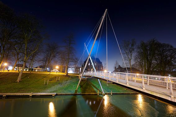 Martinusbrug over Catharijnesingel in Utrecht van Donker Utrecht