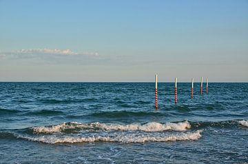 sea  - Veneto - italy van Peter Bergmann