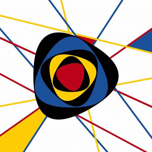 Piet Mondrian abstrakte Kunst von Marion Tenbergen