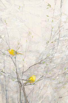 Oiseaux dans les arbres II, Julia Purinton