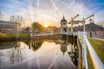 Leiden ochtend Morspoort van Jordy Kortekaas