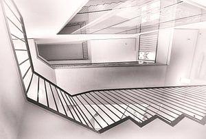 Het trapportaal van Erik Reijnders