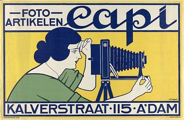 Fotoartikelen Capi, Kalverstraat 115 Amsterdam, Johann Georg van Caspel