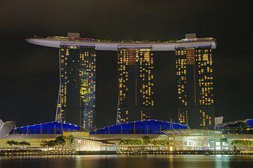 Marina Bay Sands 3 van Martin de Hoog