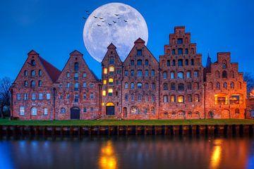 Salzspeicher in Lübeck von Tilo Grellmann | Photography