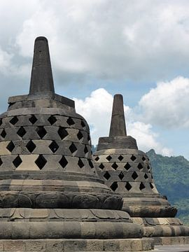 De Borobudur op Java, van Anita Tromp