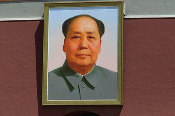 Portret van Mao van Robert Lotman