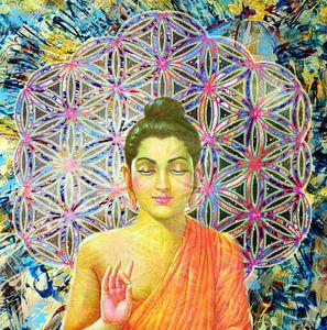 Blume des Lebens Buddha