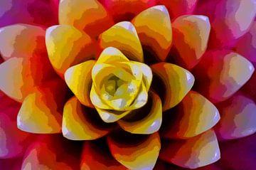 Fractal Flower van De Rover