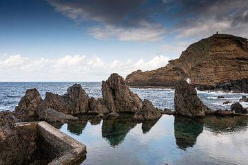 natuurlijk zwembad in Porto moniz van Compuinfoto .
