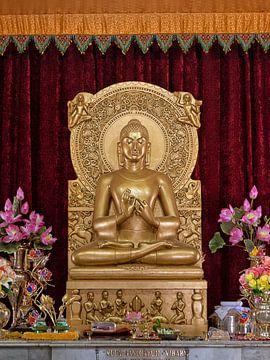 Inside a buddhist temple von Antonio Correia
