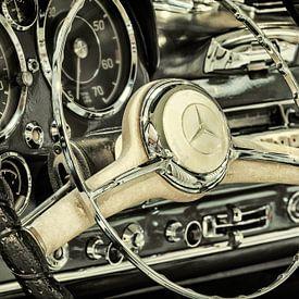 De Mercedes-Benz 190 SL Pagode van Martin Bergsma