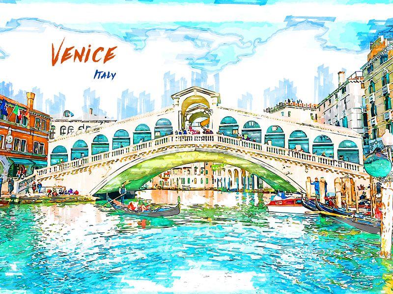 Venedig von Printed Artings