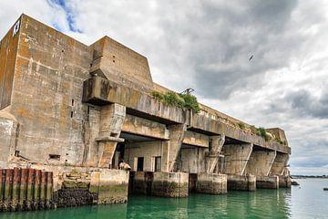 Keroman K3 bunker Lorient sur Dennis van de Water