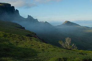 Quiraing bergen op Skye