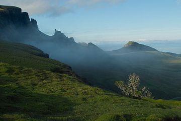 Quiraing bergen op Skye von Freerk de Boer-Brouw
