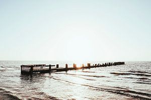 Badebrücke auf Föhr