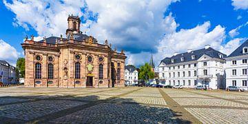 Ludwigskirche à Sarrebruck sur Werner Dieterich