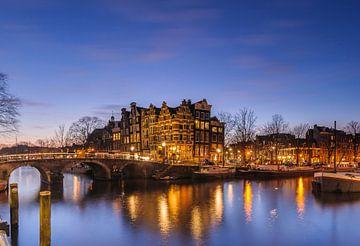Amsterdamse grachten van Arjan Keers