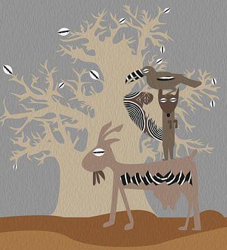 baobabizm grey van madeby anique